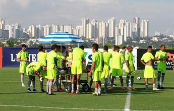Pressionado e com desfalques, Goiás se despede do JK contra o Brasil-PEL