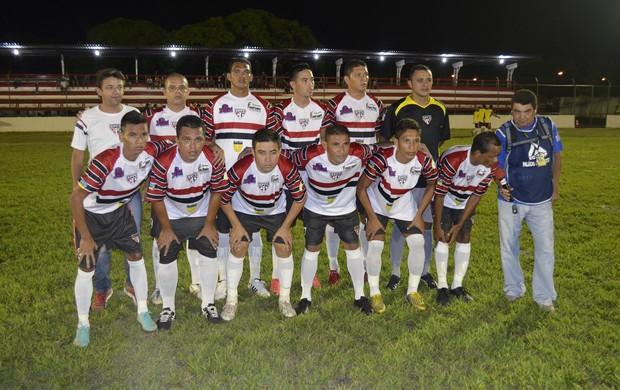 De virada, Ypiranga vence São Paulo 'Amapazão' 2013 (Foto: Jonhwene Silva, do GE-AP)