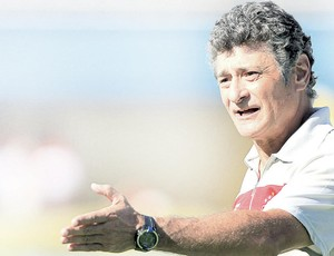 Darío Pereyra, técnico do Vila Nova (Foto: Wildes Barbosa/O Popular)