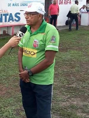 Edmilson Santos, técnico do Lagarto (Foto: Divulgação/LagartoFC)
