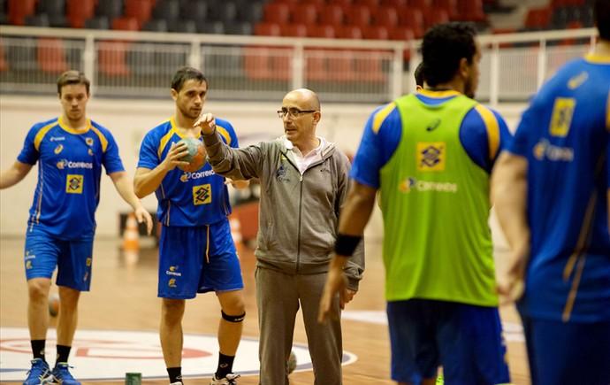 Brasil estreia contra Estados Unidos no Pan-Americano Masculino de Handebol (Foto: Cinara Piccolo/Photo&Grafia)