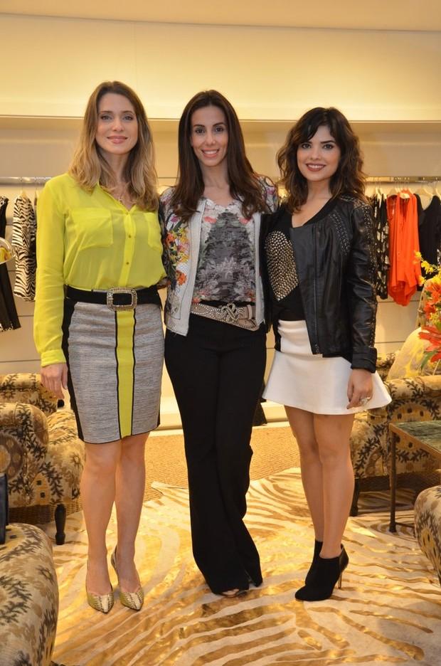 Leticia Spiller, Tania Khalill e Vanessa Giácomo (Foto: Leo Marinho /AgNews)