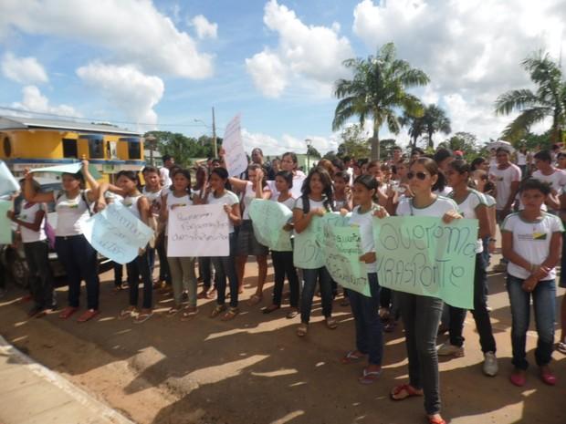 Escola Assis Brasil Acre (Foto: Duaine Rodrigues/G1)