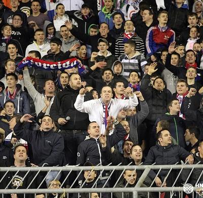 Torcida Hajduk Croácia Tour da Taça (Foto: Site Oficial)