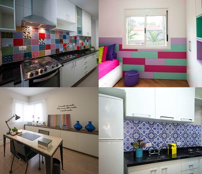 Antes e depois: veja ambientes transformados gastando muito pouco (Foto: Divulgação)