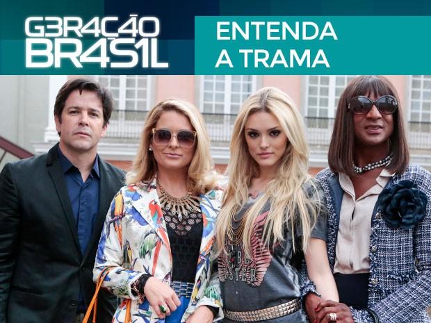 Entenda a trama: tudo sobre a nova novela das 7 (Foto: Geração Brasil / TV Globo)