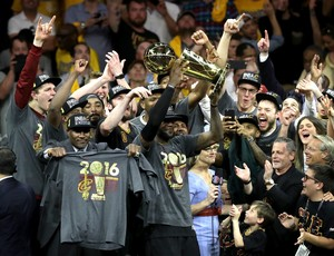 Cleveland Cavaliers x Golden State Warriors, NBA, final, jogo 7, LeBron James (Foto: Getty Images)