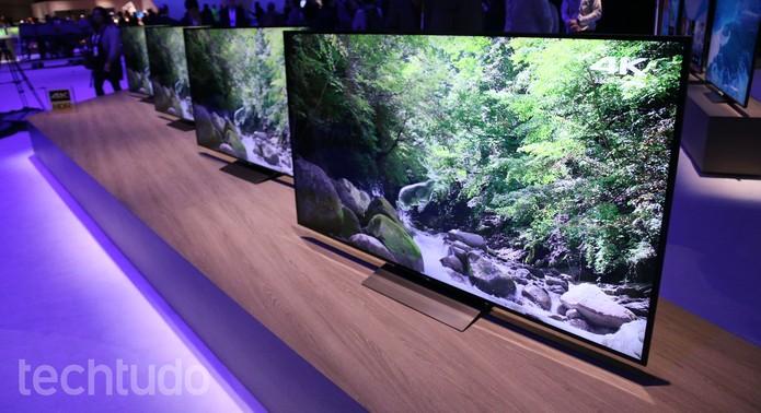 TV Bravia X930D impressiona pelas cores e pela definição (Foto: Marlon Câmara/TechTudo)