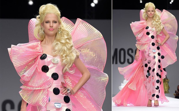 [Lilian Pacce] Desfile Moschino MFW Vero 2015 (Foto: Getty Images)