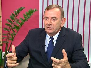 Francisco Lahóz, secretário executivo do Consórcio Intermunicipal das Bacias dos Rios Piracicaba, Capivari e Jundiaí (PCJ) (Foto: Reprodução EPTV)