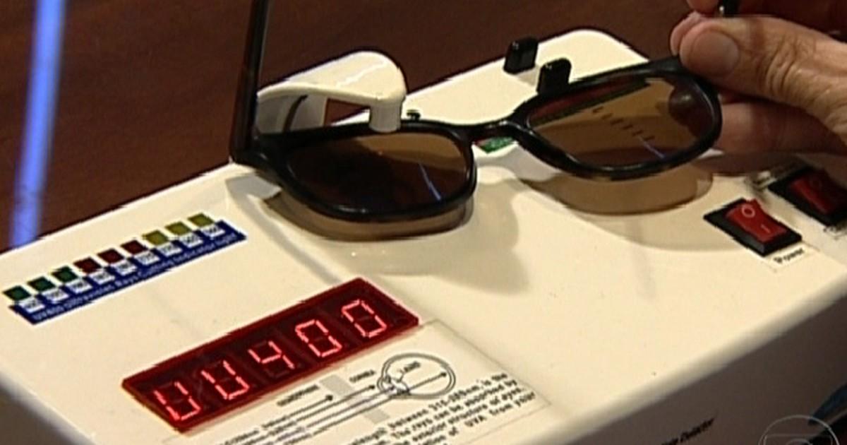 Jornal Hoje - Óculos de sol falsificados podem causar danos à visão humana 2201d23425