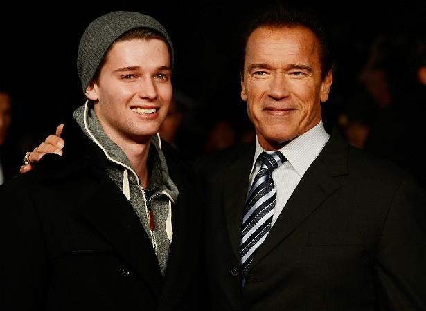 O modelo Patrick Schwarzenegger é filho, claro, do ator e ex-governador da Califórnia Arnold Schwarzenegger. O jovem está com 21 anos de idade. (Foto: Getty Images)