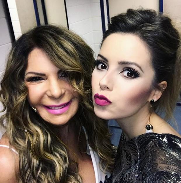 Elba Ramalho e Sandy (Foto: Reprodução/Instagram)