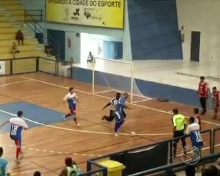 Miguel Pereira e Volta Redonda se enfrentam em partida do grupo A (Foto: RJTV 1ª Edição)