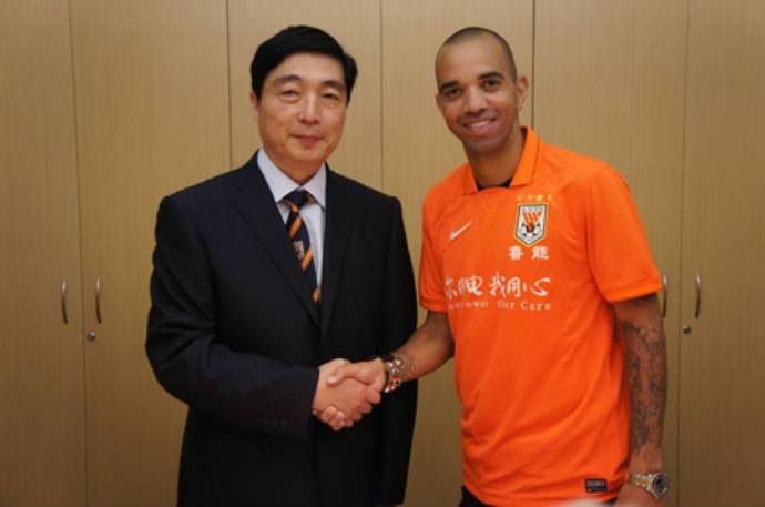 Tardelli fecha com time chinês (Foto: Reprodução/Site Oficial)