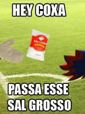 Paraná usa bom humor nas redes sociais e pede um pouco de sal grosso para o Coritiba (Foto: Divulgação/Paraná Clube)