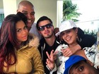 Adriano vai a festa com Ariany Nogueira e ela confirma affair