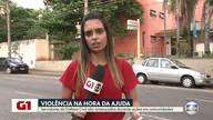 G1 no Bom Dia Rio: roubos e ameaças durante ações em favelas assustam Defesa Civil
