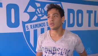 Filho de ídolo da torcida, Marcelinho Araxá defende o Tufão em 2016