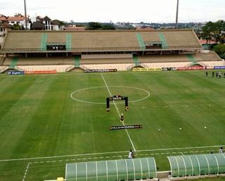 Estádio Walter Ribeiro, CIC, Sorocaba, São Bento x Novorizontino, São Bento, Novorizontino, Paulistão (Foto: Emilio Botta)