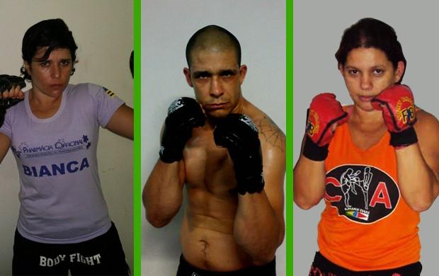 Lutadores que vão participar do Arena Fight, em Uberlândia (Foto: Divulgação)