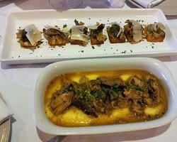 Polenta com ragu de peru e cogumelos (Foto: Amanda Monteiro/ G1)