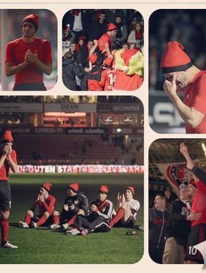 despedida de Renato Augusto, do Bayer Leverkusen (Foto: Reprodução / Instagram)