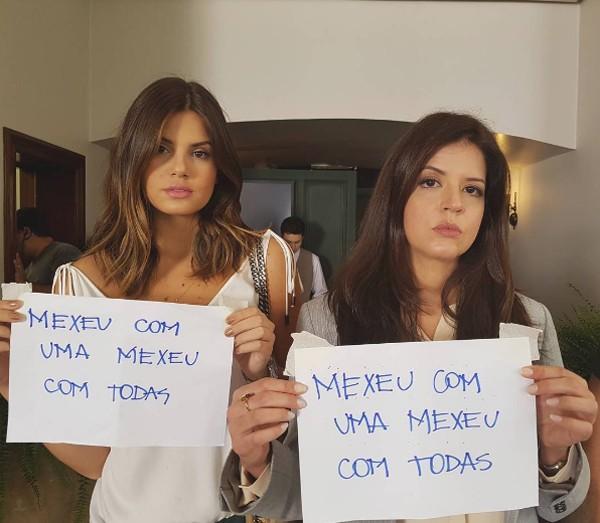 Camila Queiroz e Mariana Santos (Foto: Reprodução / Instagram)