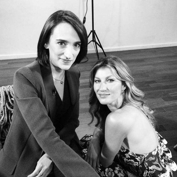 Maria Prata e Gisele Bundchen  (Foto: Instagram / Reprodução)