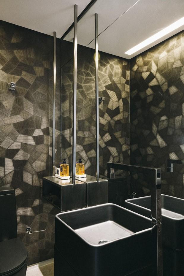 Decoração cinza brilha em apartamento de 70 m² (Foto: Divulgação)