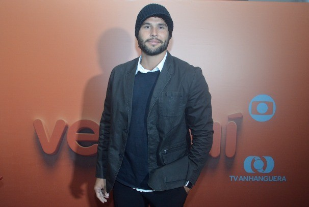 O ator Dudu Azevedo foi presença mais que especial no evento. (Foto: Divulgação/Evandro Duarte)