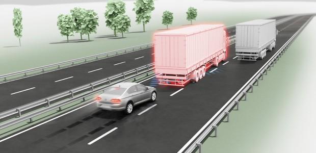 Controle Automático de Velocidade e Distância (ACC) da Volkswagen (Foto: Divulgação)