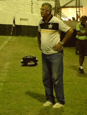 Técnico do Estrela do Norte, Dário Lourenço (Foto: João Brito/GloboEsporte.com)