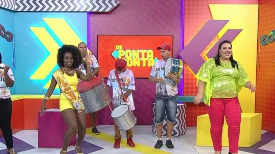 'De Ponta a Ponta' acompanhou a rotina da galera do 'Carnaval'