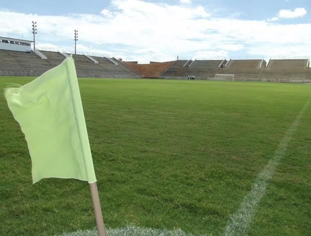 Estádio Barretão, em Ceará-Mirim (Foto: Arthur Barbalho)