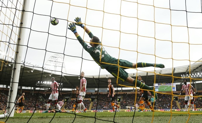 Gol de Shaqiri Stoke City x Hull (Foto: Reuters)