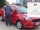 Ford Ka: G1 avalia central multimídia