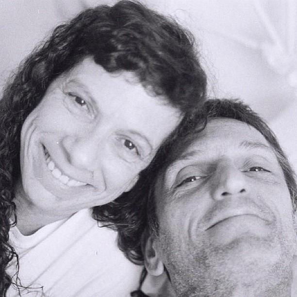 Paulo Miklos com a mulher, Rachel Salém (foto de arquivo) (Foto: Instagram/ Reprodução)