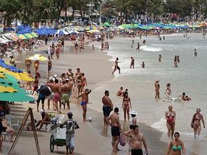 Praias do RN estão próprias (Foto: Canindé Soares)