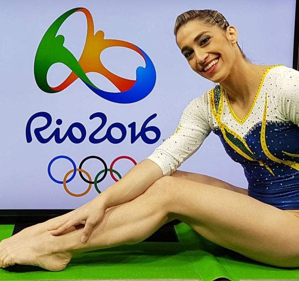 A ginasta Daniele Hypolito, 32 anos (Foto: Reprodução/Instagram)