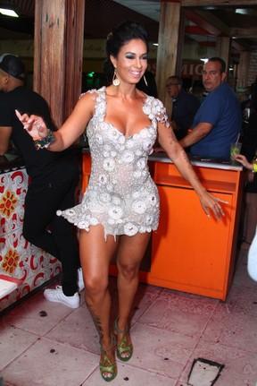 Milena Nogueira em evento no Rio (Foto: Anderson Borde/ Ag. News)