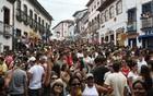 Carnaval de Diamantina está garantido (Eugenio Moraes/HOJE EM DIA/AE)