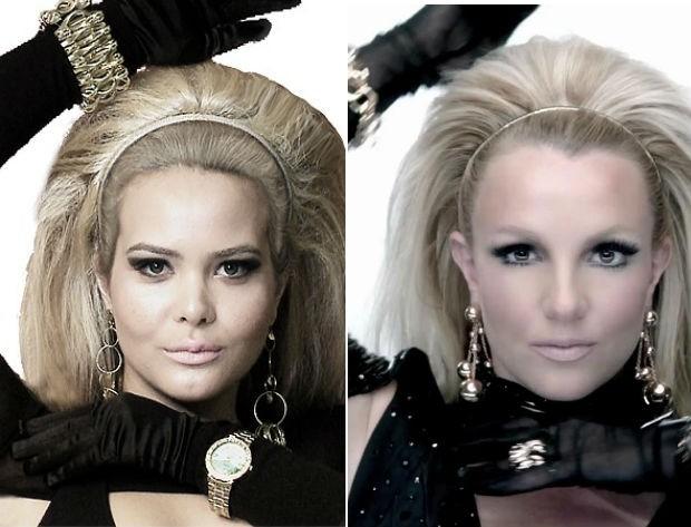 Geisy Arruda à la Britney Spears: também queremos show da princesinha do pop! (Foto: Divulgação/RedeTV // Reprodução)