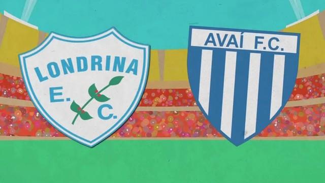 Jogo de Londrina x Avaí será transmitido pela RBS TV  (Foto: RBS TV/Divulgação)