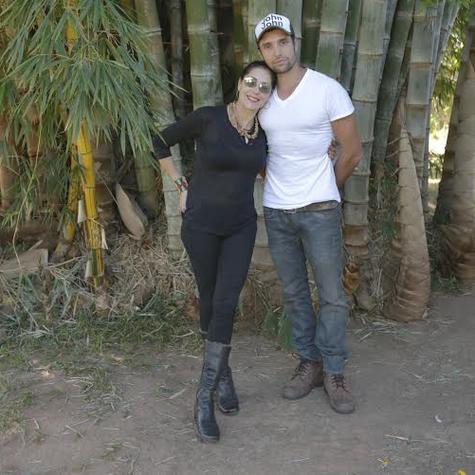 Christiane Torloni e Leonardo Carvalho (Foto: Arquivo pessoal)
