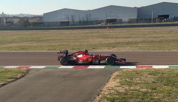 BLOG: Vettel já na pista em Fiorano
