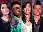 Maria Christina, Liah Soares, Ju Moraes e Ellen Oléria disputam a grande final