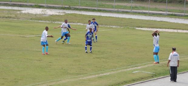 Ecus e Taubaté empataram por 0 a 0 na Copa Ouro (Foto: Vitor Geron / Globoesporte.com)