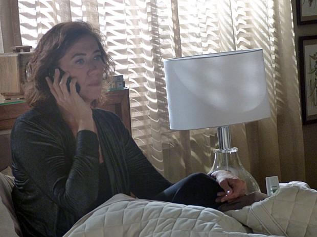 Marta denuncia o próprio marido para a Polícia Federal (Foto: Cláudia Castilho/ Gshow)