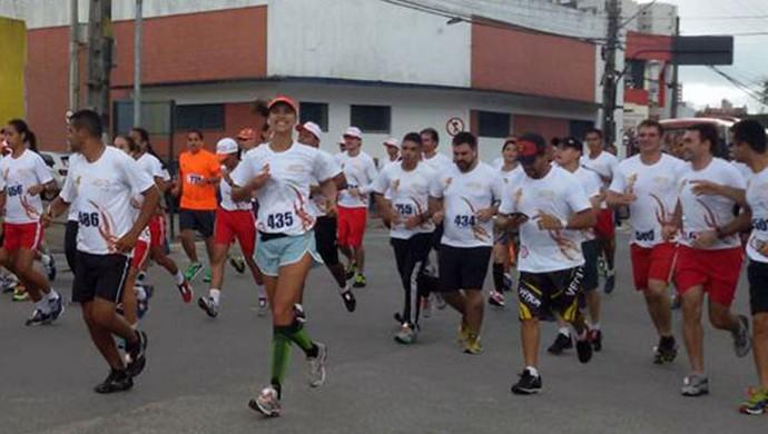 Corrida do Fogo Campina Grande (Foto: Divulgação / Corpo de Bombeiros)